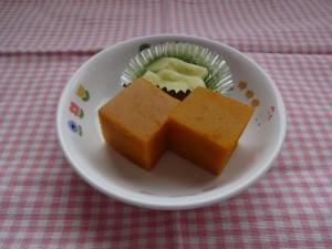 かぼちゃ豆乳寒天